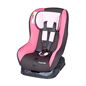 Baby Car Seats: Nania Basic Comfort Car Seat in Rosa (Pink/Black, 0 ...