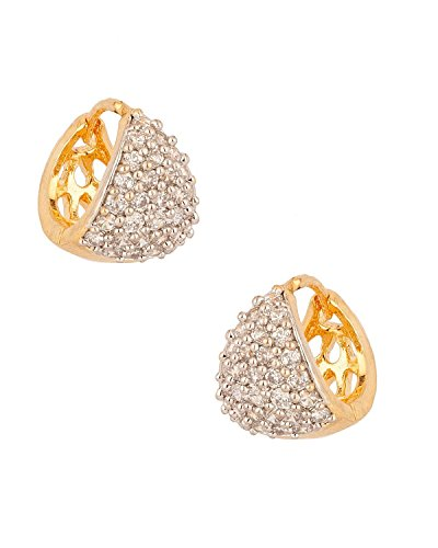 Youbella Gold-Plated Hoop Earrings For Women/Girls