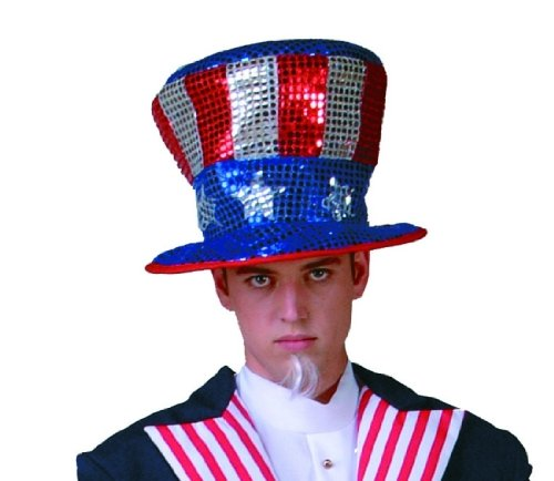 Adult Uncle Sam Costume Hat