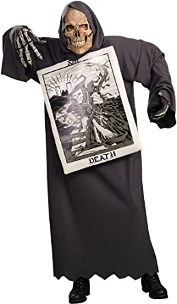 Rubies Costume Company Mens Tarot Death Adult Costume