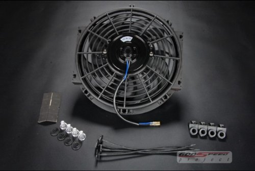 "Universal Electric Radiator Slim Fan - 12"""