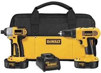 DeWalt DCK235C 18V NiCad 2-Tool Kit