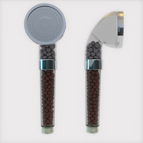 water filter shower head h2o natural shower filter by h2o natural high output chlorine removing. Black Bedroom Furniture Sets. Home Design Ideas