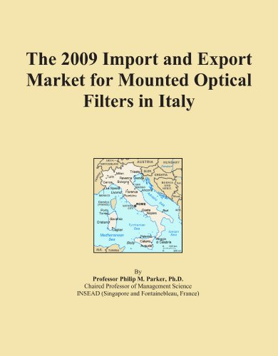 The 2009 Import and Export Market for Mounted Optical Filters in Italy