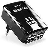equinux tizi Tankstelle - 4fach USB Netzteil (4200 mA)