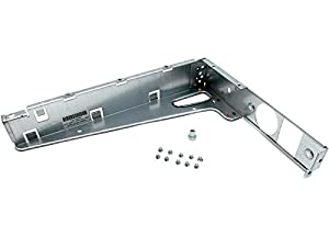 HP 686657-001 Non-hot-plug power supply bracket - L-shaped bracket that mounts in the left rear corner of the server