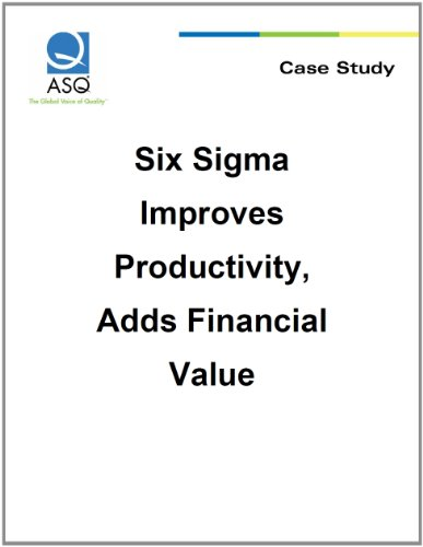 six sigma implementation at maple leaf foods Six sigma: what, where, when, why & how maple leaf foods the buy in to six sigma must be from the top down and cannot.