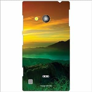 Design Worlds - Nokia Lumia 720 Designer Back Cover Case - Multicolor Phone...
