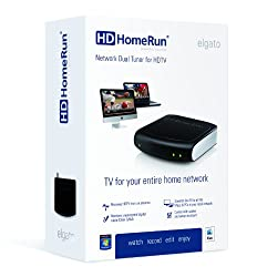 Elgato HDHomeRun Network Dual Tuner for HDTV for Mac or PC (10023030)