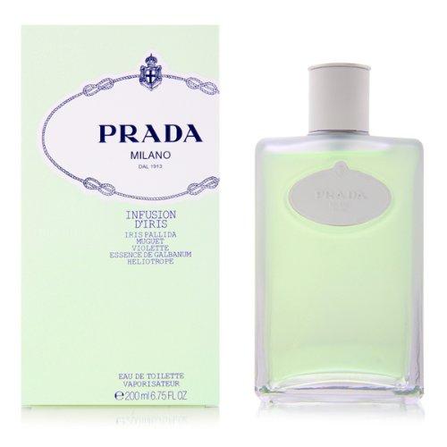 Prada Milano Infusion D'Iris Eau de Toilette Spray for Women, 6.75 Ounce