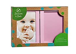 Blossoms and Buds Pink Baby Clay Imprint Photo Frame Kit