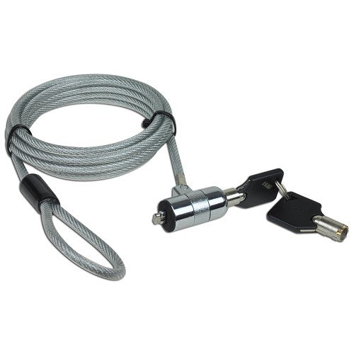 Review Of 6 feet NoteGuard Kensington Compatible Universal Security Cable Lock with 2 Keys