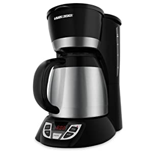 thermos coffee maker Black & Decker CM1509 8 Cup Programmable