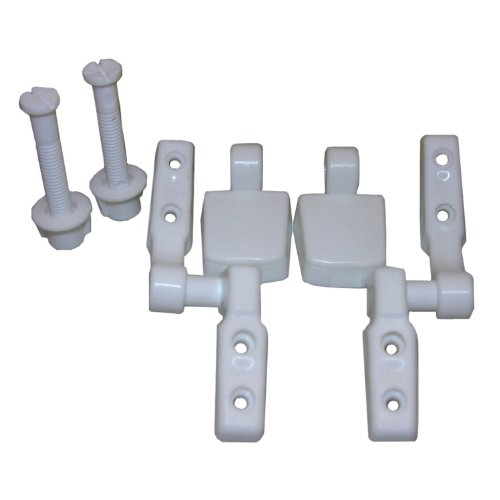 bemis toilet seat hinges. Lasco 14 1039 White Plastic Toilet Seat Hinge with Bolts and Nuts  Top Tightening Mayfair Parts