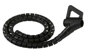 Monster cable Cache Câbles pour 5 à 8 Câbles Taille Moyenne Noir