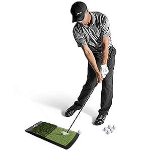 SKLZ Rick Smith Launch Pad Golf Abschlagmatte, Grün, SK6504001
