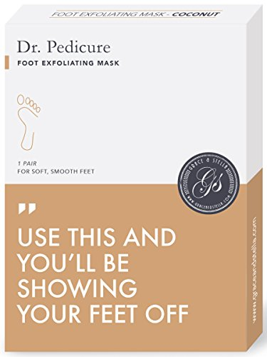 #1 Luxury Pedicure Foot Peeling Mask by Grace & Stella¨ - Get Baby Soft Feet - 100% - Deep Exfoliation Peel Treatment (Baby Feet Foot Treatment compare prices)