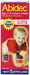 Abidec Multivitamin Syrup with Omega 3 - 150 ml