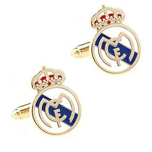 Beauty Jewelry Shop Cufflinks For Men Or Women Designs Real Madrid Cufflink 1 Pair Retail Promotion