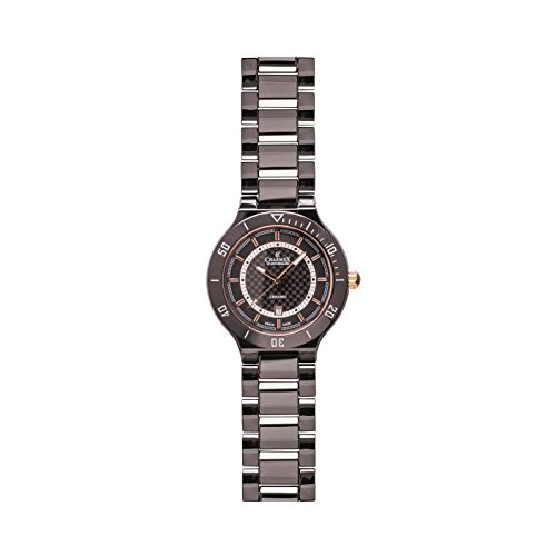 Charmex San Remo 2691 43mm Ceramic Case Black Ceramic Synthetic Sapphire Men's Watch
