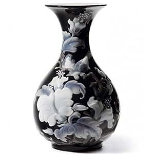 Amazon.com - Lladro Sparrows Vase Black - Plus One Year Accidental