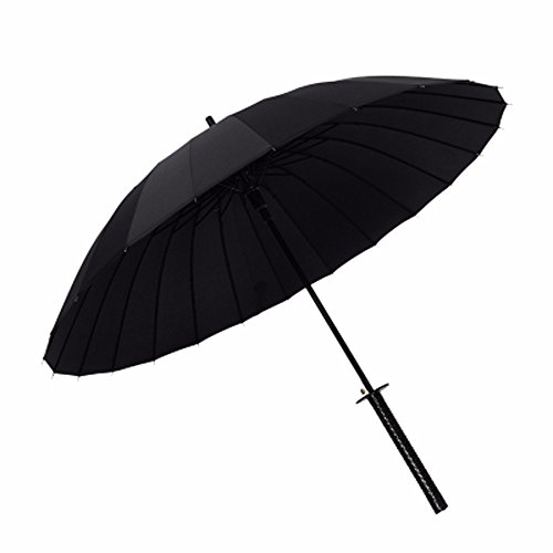 ssby-mens-umbrella-handle-creative-student-umbrella-windproof-umbrella-black-anime-samurai-umbrella-