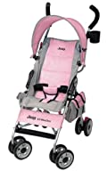 Jeep All-Weather Reclining Umbrella Stroller, Pink