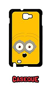 Caseque Blowed Minion Back Shell Case Cover for Samsung Galaxy Note 1