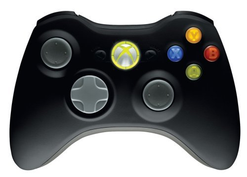 Microsoft Xbox 360 Wireless Controller - Matte Black