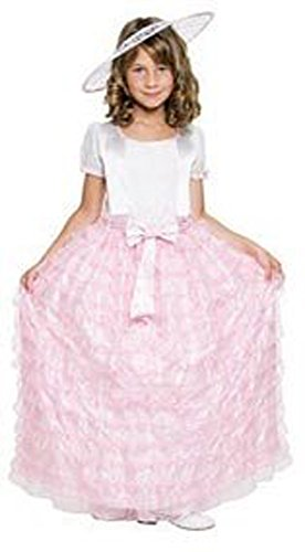 Child Southern Belle Pink Costume Size Small 4-6 - 1