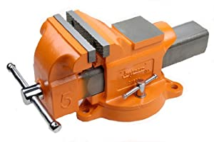 Jorgensen 30404 4-Inch Heavy Duty Swivel Base Bench Vise