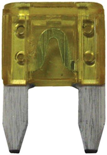 Handi-Man Marine 180772 20 Amp Plug-In Mini Fuse - Pack of 3