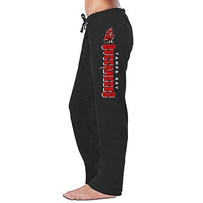 Bro-Custom Tampa Bay Football Logo Buccaneer Women's Pants Black