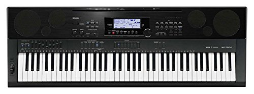 Casio Wk7500 76 Key Touch Sensitive Workstation Keyboard