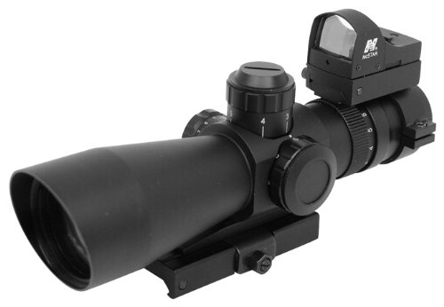 Why Should You Buy NcStar Mark III Tactical P4 Sniper 3-9X42/Scope Adaptor Mount/Red Dot Combo Packa...