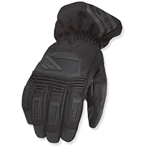 Coldwave Hi Altitude Textile Snowmobile Gloves Black SM