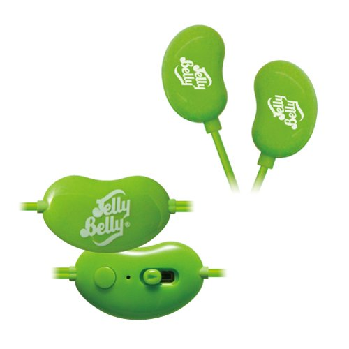 Pleasant Company Jelly Belly Canal Type Earphone Microphone Very Cherry Kgr (Japan Import)