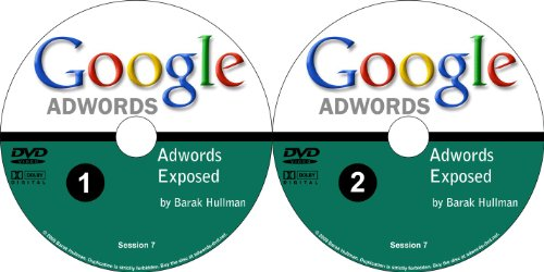 How to Use Google Adwords to Market Your Website Explained Simply and to the Point: 2 DVD Set