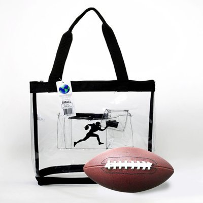 Clear Tote Bag National Football Stadium Compliant 12 X12X6