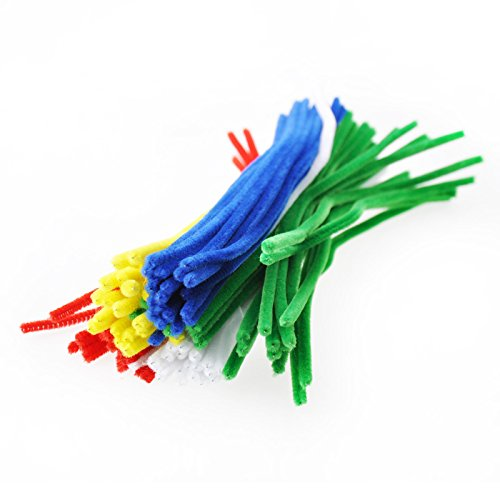 Chemille Stems -- Pipe cleaners -- Fuzzy Molding Sticks Twist Stems -- Yazycraft