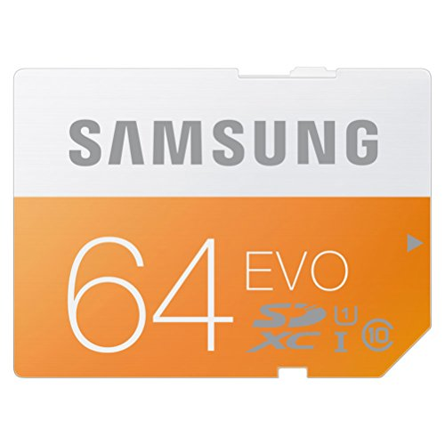 Samsung SDXCカード 64GB EVO Class10 UHS-I対応 (最大転送速度48MB/s) MB-SP64D/FFP