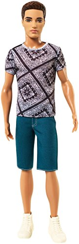 Barbie Fashionistas Ryan Doll, Jean Shorts and Shirt - 1