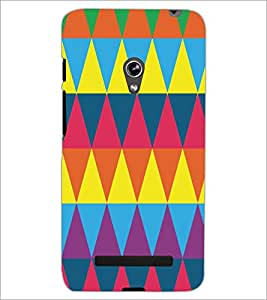 PrintDhaba Pattern D-5172 Back Case Cover for ASUS ZENFONE 5 A501CG (Multi-Coloured)