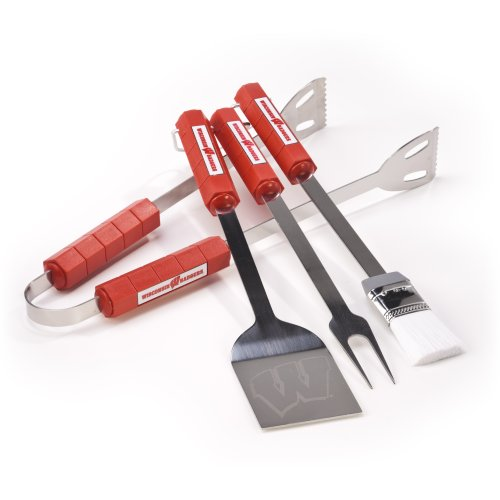 Ncaa Wisconsin Badgers 4 Piece Barbecue Set