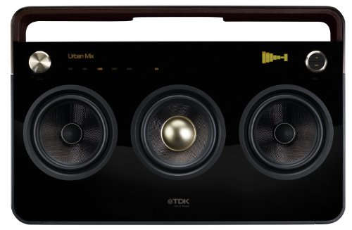 TDK Life on Record 77000015360 3-Speaker Boombox Audio System