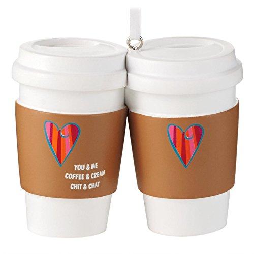 Coffee and Friends Hallmark Gift Ornament Girlfriend (Hallmark Coffee Cups compare prices)