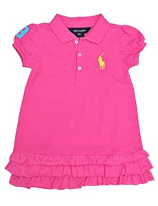 Ralph Lauren Layette Girl's Short-Sleeved Dress