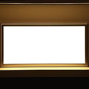 led lampen test arespark 30x60cm 18w led panel smd 2835 warmwei ultraslim einbau leuchte. Black Bedroom Furniture Sets. Home Design Ideas