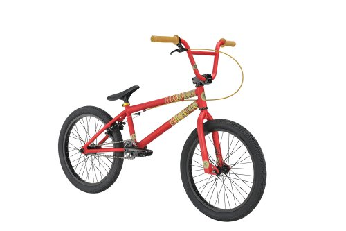 Kink 2012 Curb BMX Bike (Red, 20-Inch)