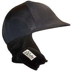 Equestrian Helmets Exselle Winter Riding Helmet Cover, Black